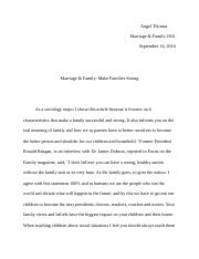 Marriage & Family Article Response.docx