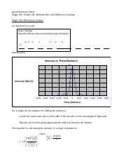 Quick Reference Sheet - Diffraction and Interference.docx