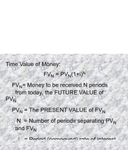 Time Value of Money Handout