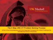 5 Step USC-CT Problem Solving Process