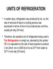RAC C Units of Refrigeration Basics.pptx