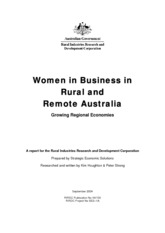 Women in Business in Rural and Remote Australia