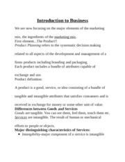 Introduction to Business Lab Analysis