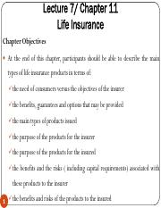 Lecture 7 - Life Insurance Products.pdf