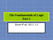 Week_02_3_The Fundamentals of Logic part 2