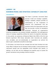 MGTCSSMR - 08 - BUSINESS MODEL AND STRATEGIC CAPABILITY ANALYSIS.pdf