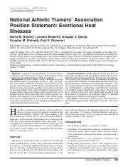 NATA-position-statement-external-heat-illnesses