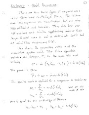 Lecture 6 Notes - Compressors