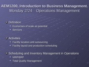 2-24_2-26 Operations Management