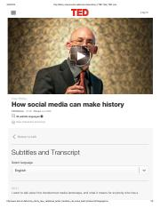 Clay Shirky_ How social media can make history _ TED Talk _ TED