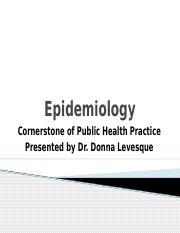 uses of epidemiology Epidemiology in community health care epidemiology is the study of the determinants and distribution of health  lack of seat belt use that.