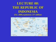 ANT 200 LECTURE 08 The Republic
