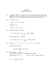 Homework  Solutions Wolf_Smith Ch. 5 and 12
