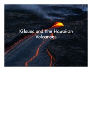 Hawaiian Volcanoes  lecture notes