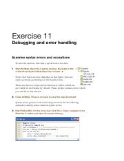 ZanbergenPYTHON_EXERCISE_Ch8 pdf - Exercise 8 Working with