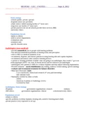 HESP 202 Lecture 3 Notes - sept 6 2012