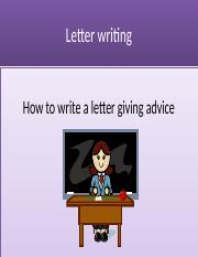 letter of advice.pptx