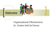 Session 1 (Introduction to Organizational Effectiveness Revision)
