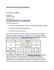 contingency table 01