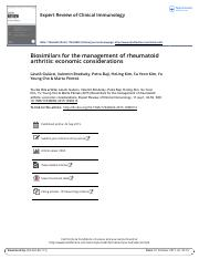 Biosimilars for the management of rheumatoid artrithis-economic considerations.pdf