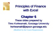 Chapter 6 lecture