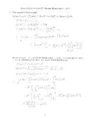 Homework 3 Solution on Vector Calculus