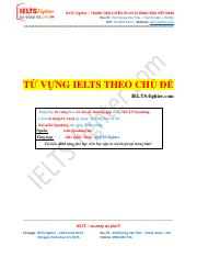 IELTS Fighter - Speaking Vocabulary - Tang hoc vien.pdf