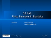 Theory of Elasticity Review