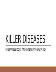 PH Killer Diseases