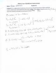 Power System Midterm Solution Fall 2015