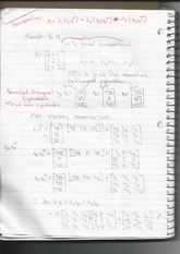 Linear Algebra Spectral Decomposition