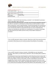 CEP 200 - Unit 2 Self-Reflection Assignment .docx