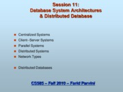 11 - Distributed databases
