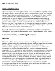 Social Change Education Research Paper Starter - eNotes.pdf