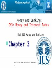 CHApter  3 Money and Interest Rates .pptx
