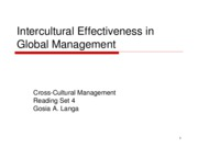 4 Culture and Management Theories