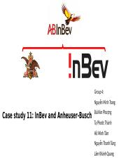 InBev and Anheuser-Busch.pptx