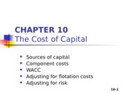 Zhang_Student_Chapter 10_Cost of Capital