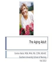 Chapter 20 The Aging Adult (4)