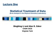 Lecture_Statistics_Spring_2013b