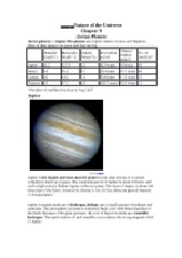 Chapter 9 - Jovian Planets