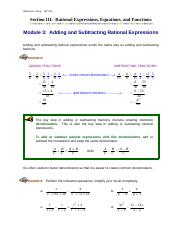 Module3_Adding_and_Subtracting_Rational_Expressions