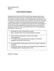 "Assignment - Module 7: ""How to Badminton"