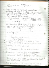 physics 1 notes #2