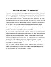 rightnow technologies case