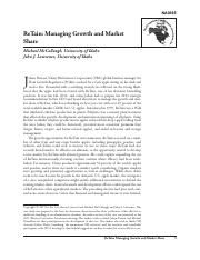 ReTain - Managing Growth and Market Share - case.pdf