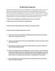 The Blind Side Questions.docx