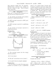 Homework 03 (Thermodynamics & Equilibria)-solutions