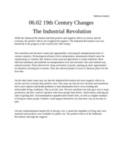 06.02 19th Century Changes