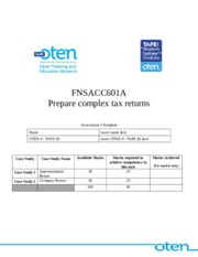 FNSACC601A - Assessment 4 (Template)